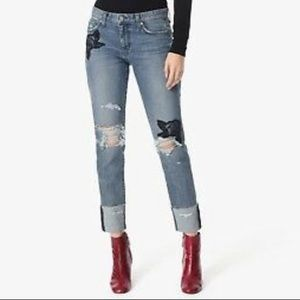 Joe's Jeans The Smith Mid Rise Straight Jeans, 28